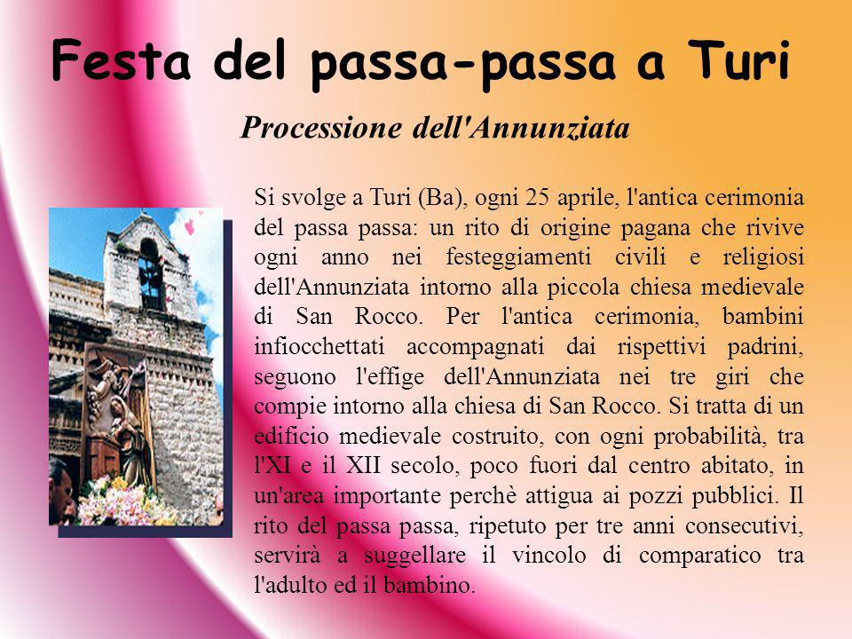 Festa del passa-passa a Turi