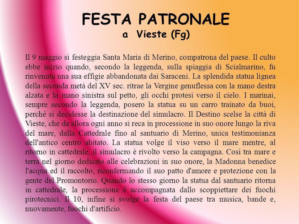 FESTA PATRONALE a Vieste (Fg)