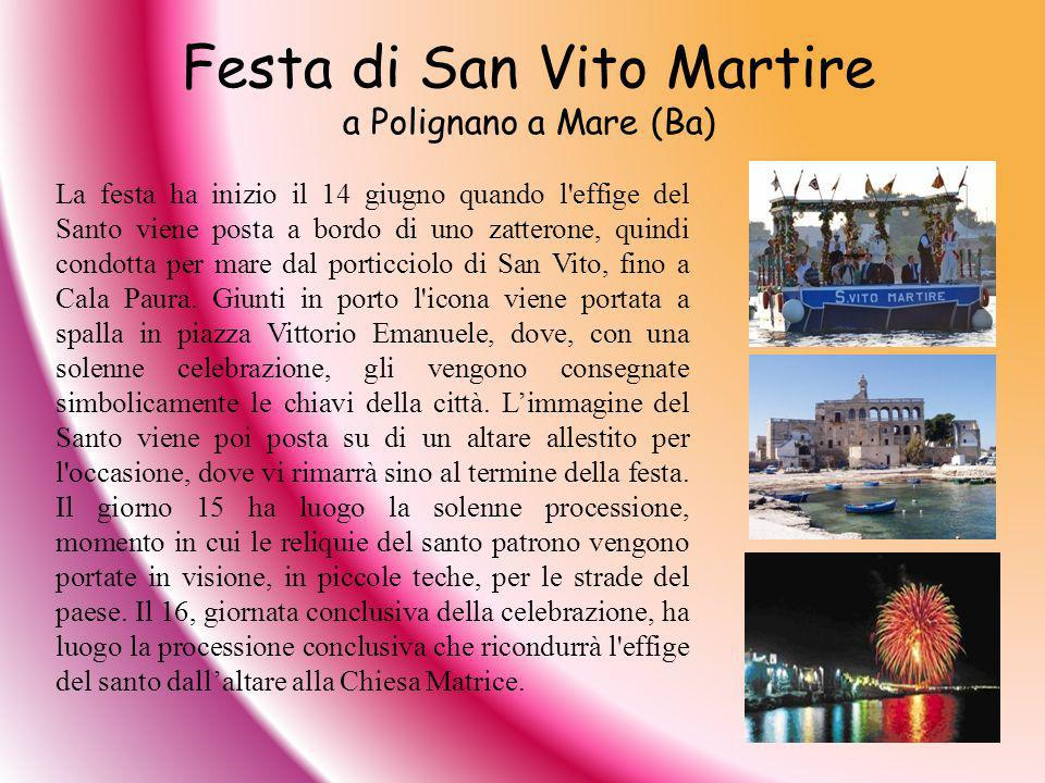 Festa di San Vito Martire