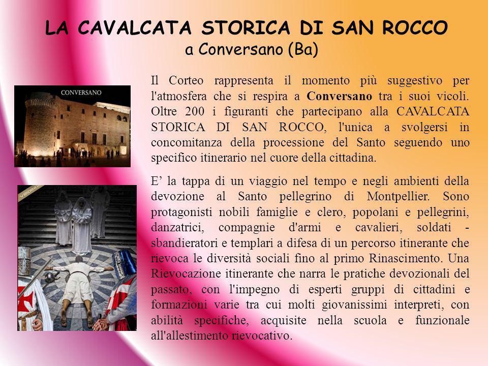 LA CAVALCATA STORICA DI SAN ROCCO