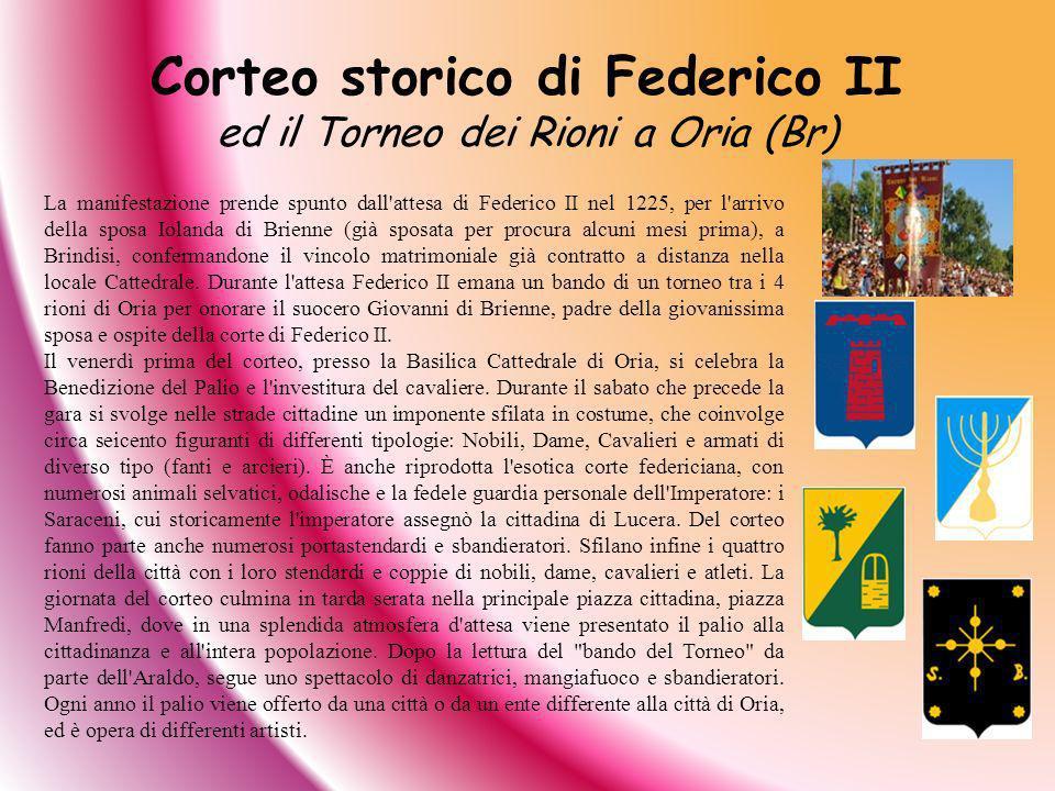 Corteo storico di Federico II