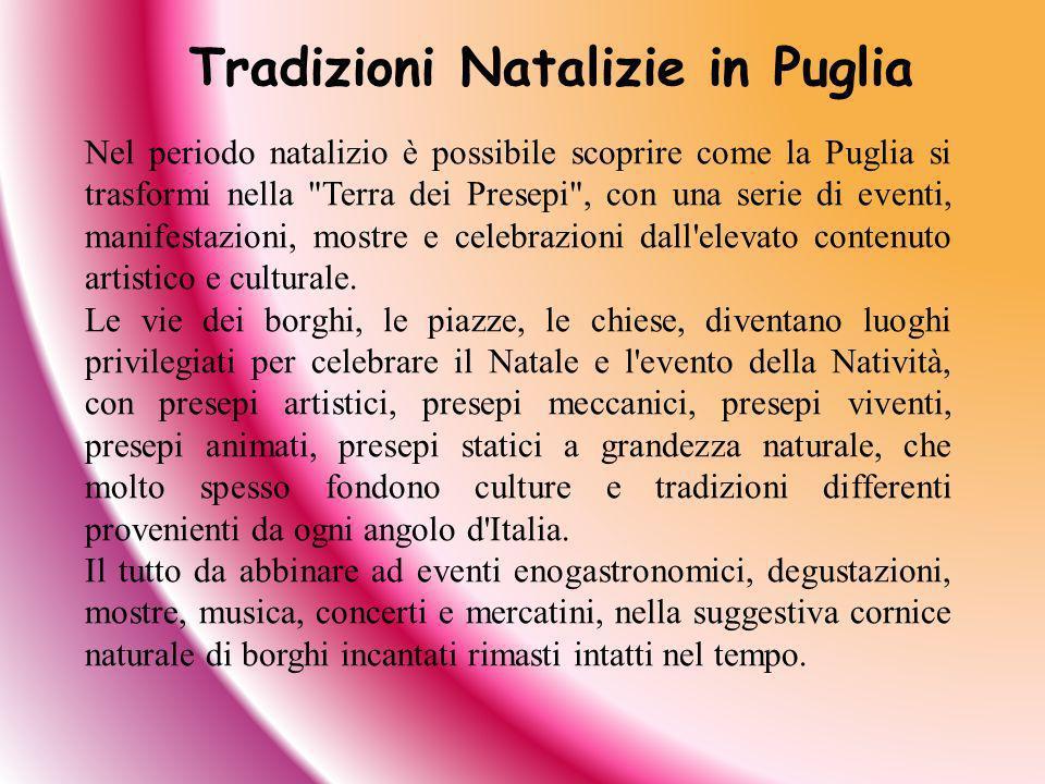 Tradizioni Natalizie in Puglia