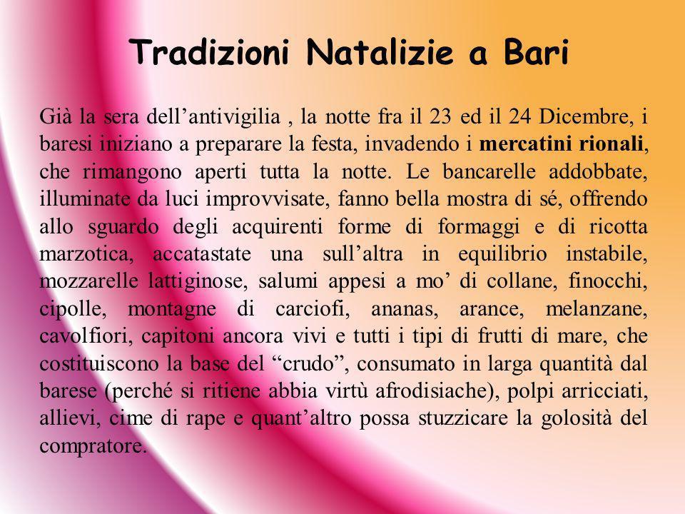 Tradizioni Natalizie a Bari