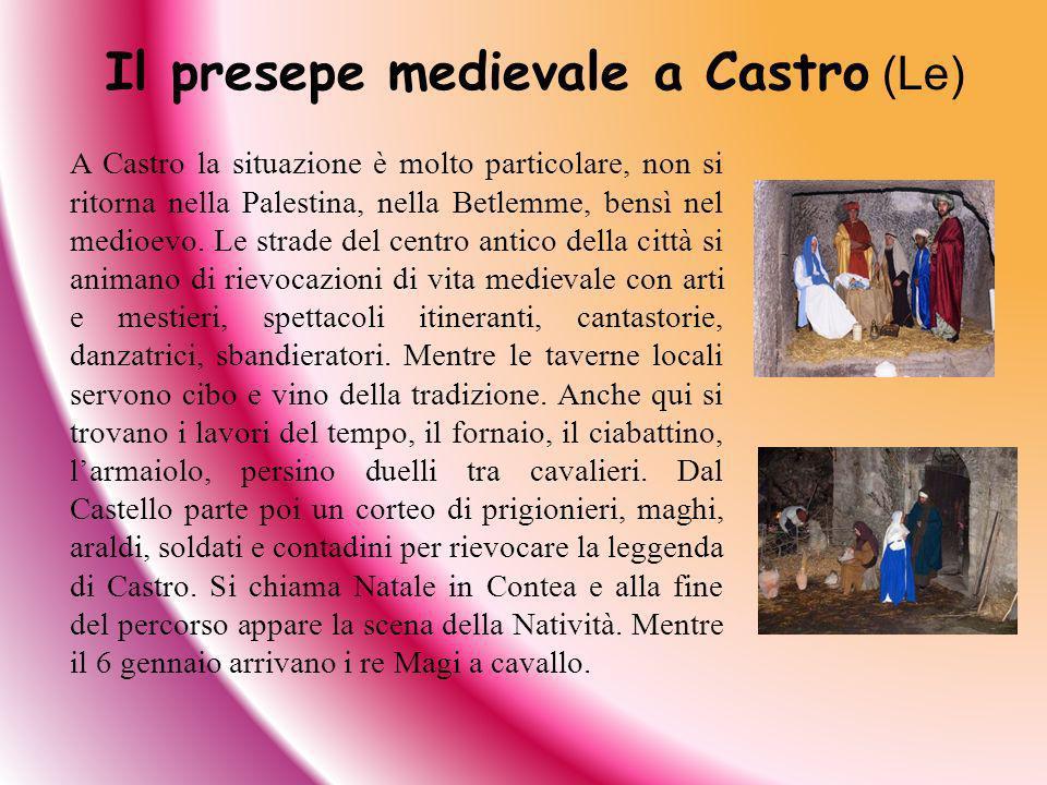 Il presepe medievale a Castro (Le)