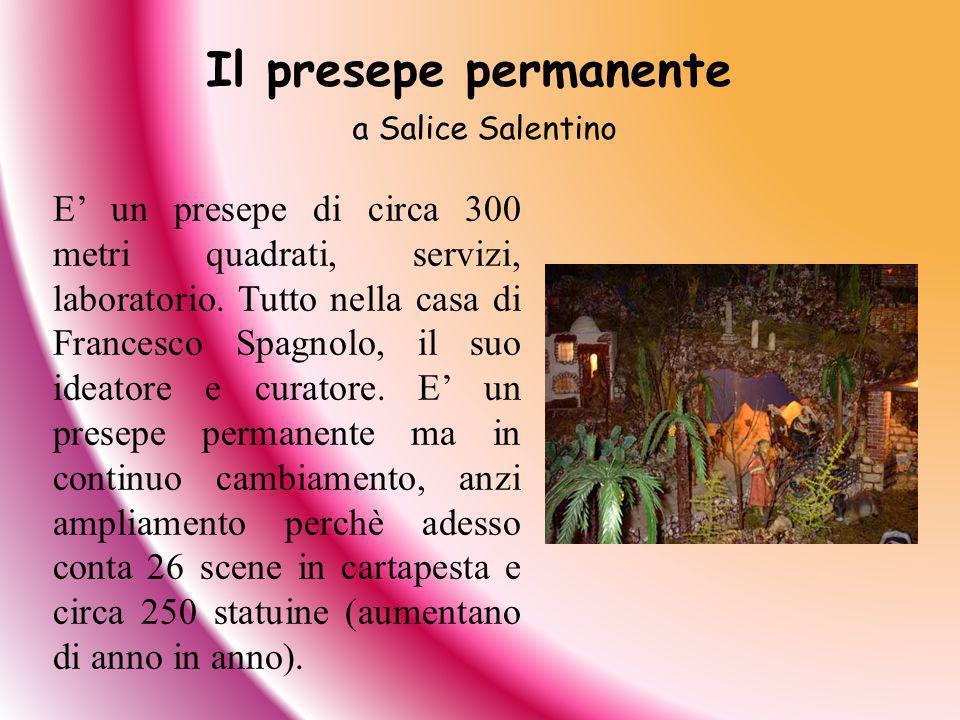 Il presepe permanente a Salice Salentino