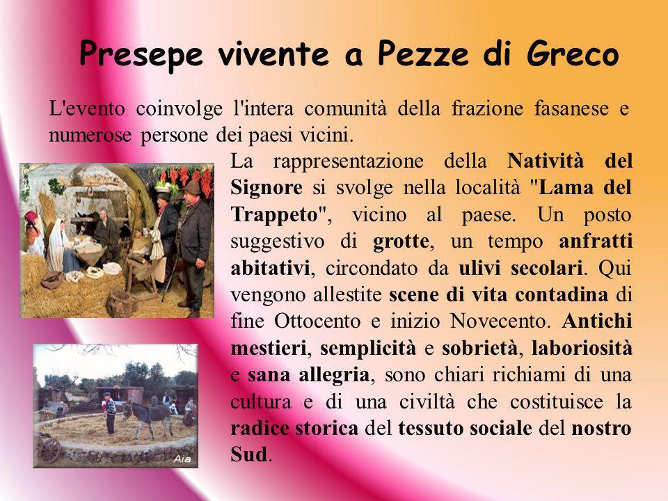 Presepe vivente a Pezze di Greco