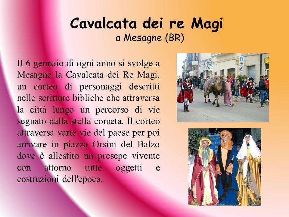 Cavalcata dei re Magi a Mesagne (BR)