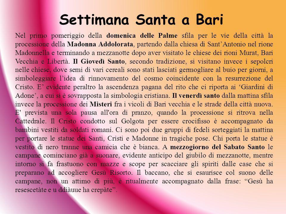 Settimana Santa a Bari
