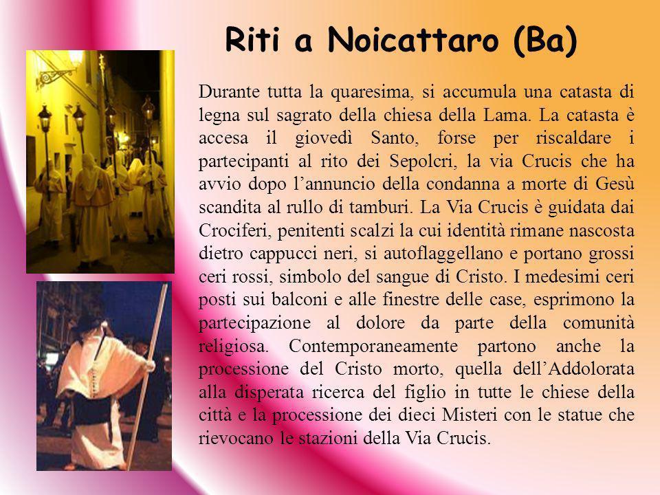 Riti a Noicattaro (Ba)