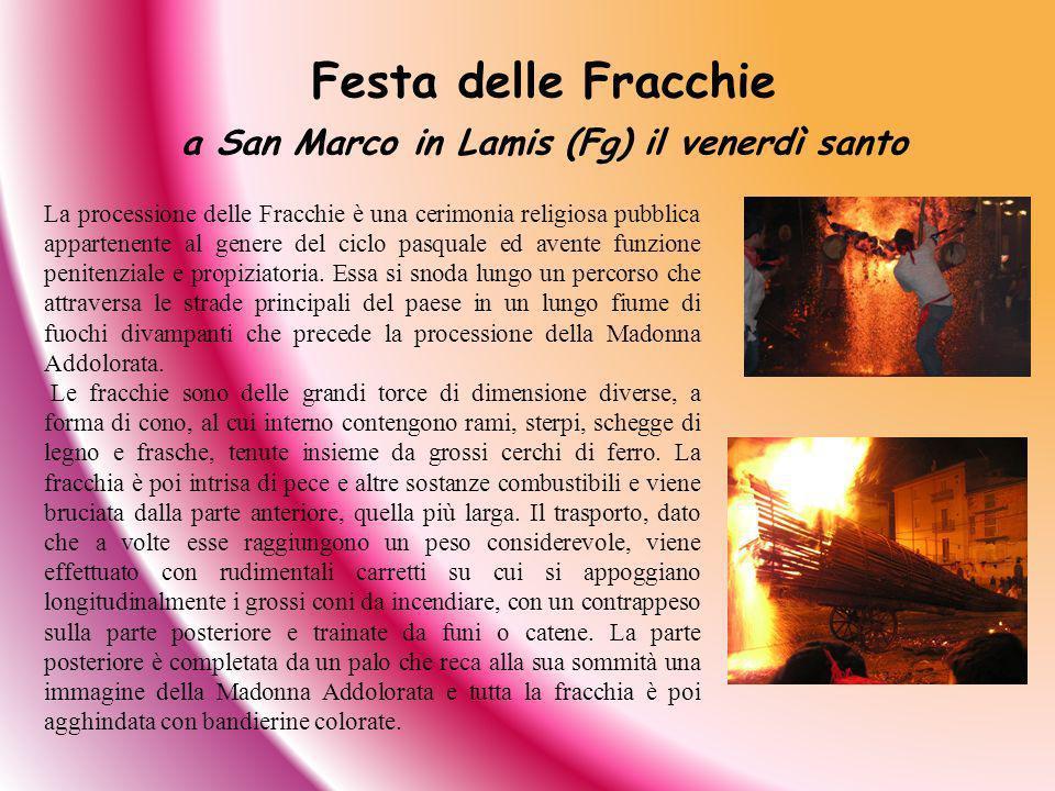 a San Marco in Lamis (Fg) il venerdì santo