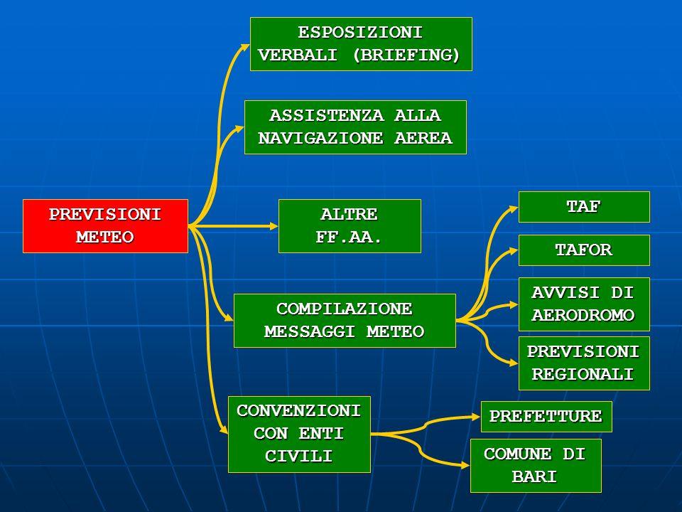 ESPOSIZIONI VERBALI (BRIEFING)