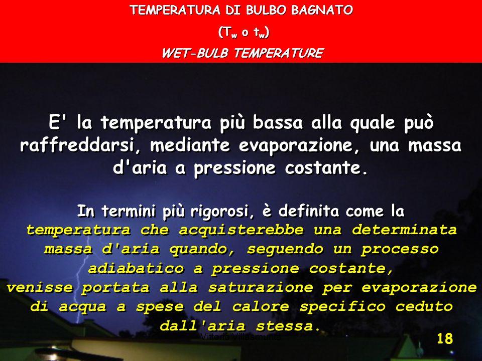 TEMPERATURA DI BULBO BAGNATO