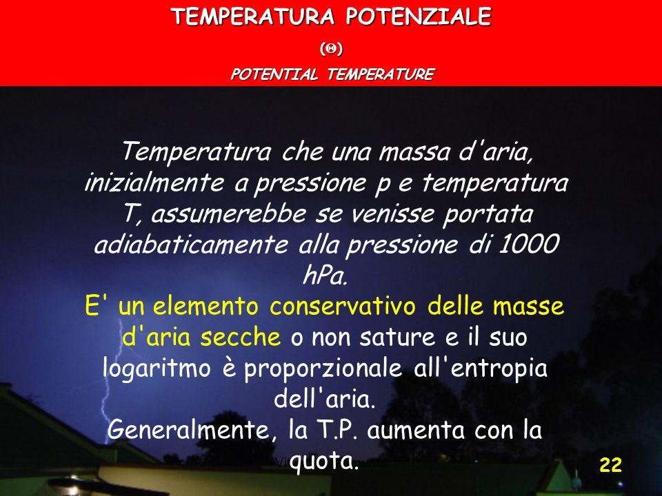 TEMPERATURA POTENZIALE POTENTIAL TEMPERATURE