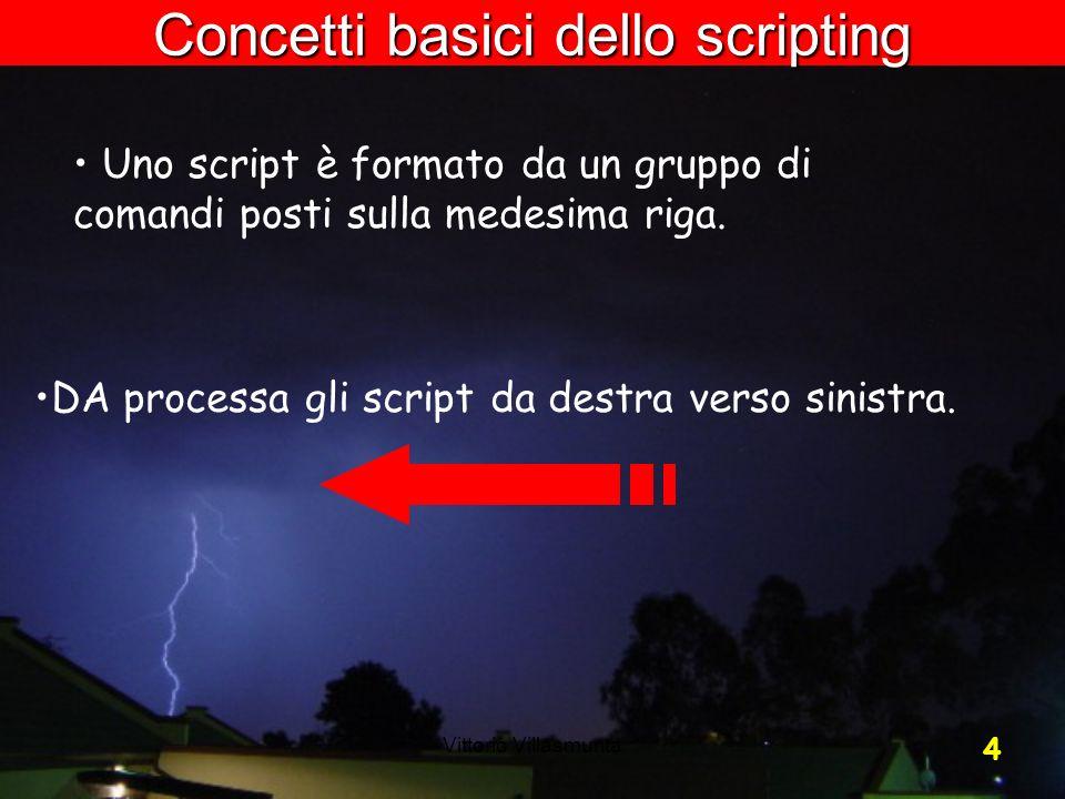 Concetti basici dello scripting