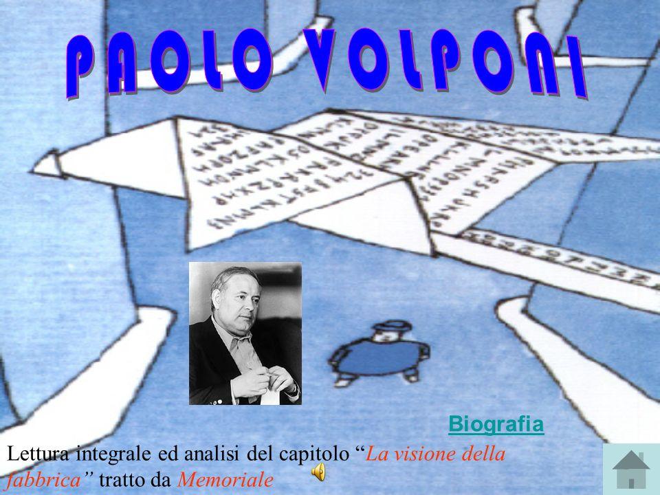 PAOLO VOLPONI Biografia