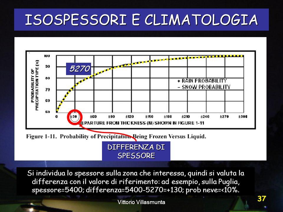 ISOSPESSORI E CLIMATOLOGIA