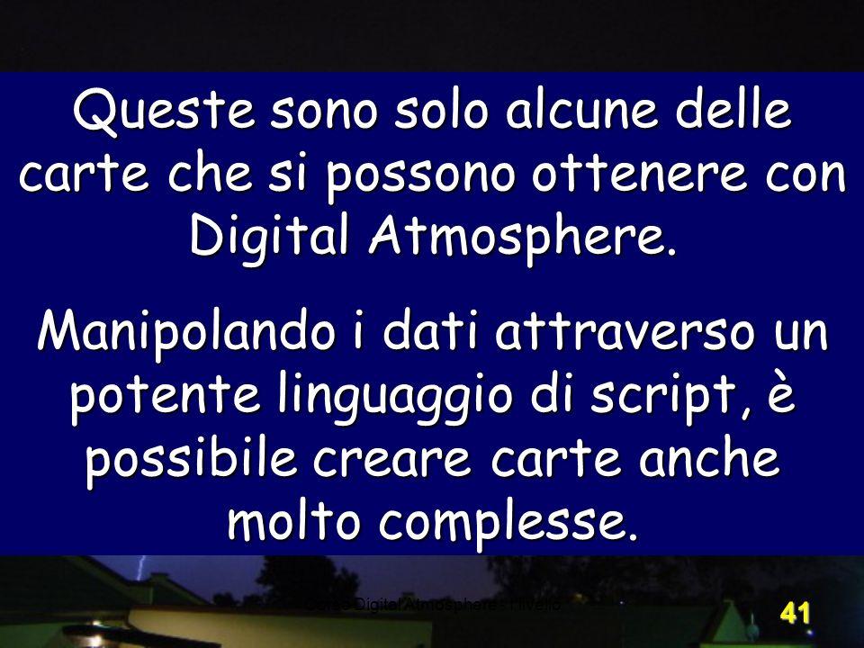 Corso Digital Atmosphere - I livello
