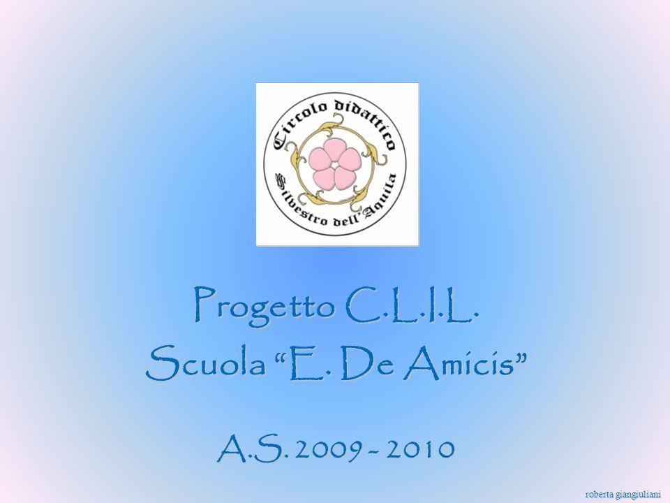 Progetto C.L.I.L. Scuola E. De Amicis