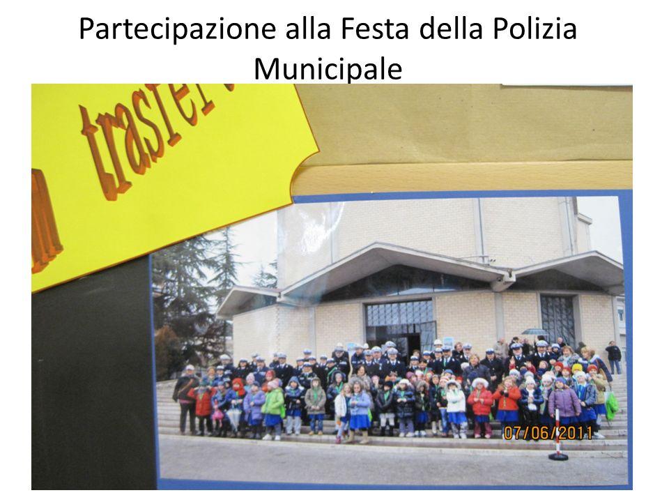 Partecipazione alla Festa della Polizia Municipale