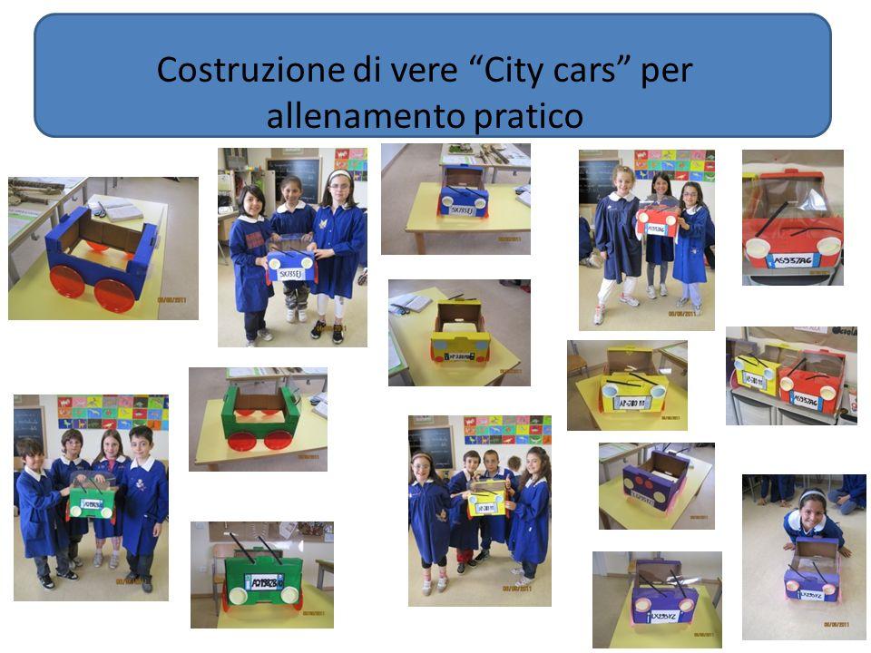 Costruzione di vere City cars per allenamento pratico