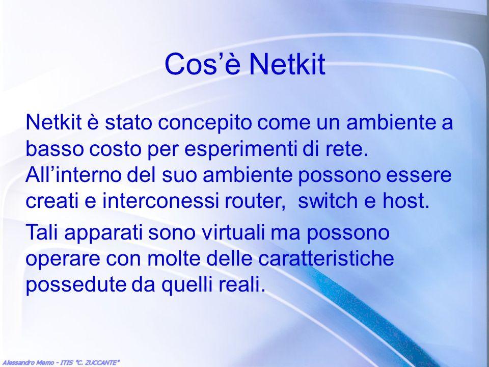 Cos'è Netkit