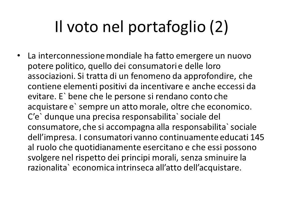 Il voto nel portafoglio (2)