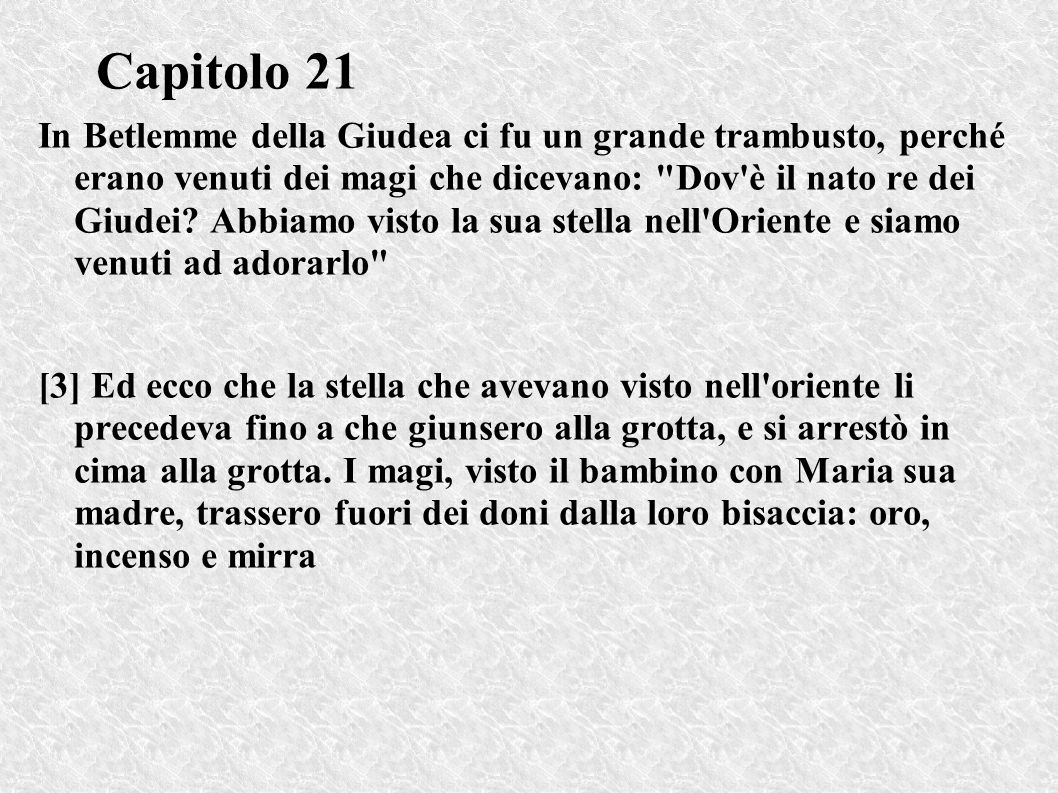 Capitolo 21