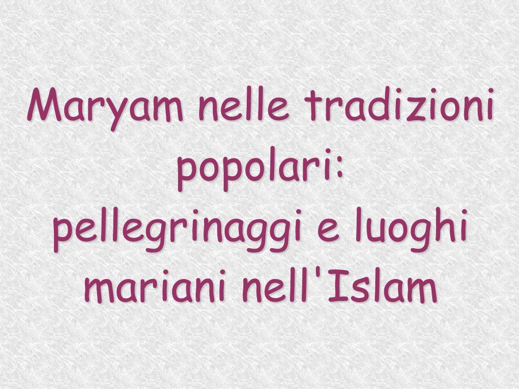 Maryam nelle tradizioni popolari: