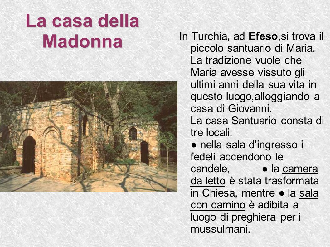 La casa della Madonna