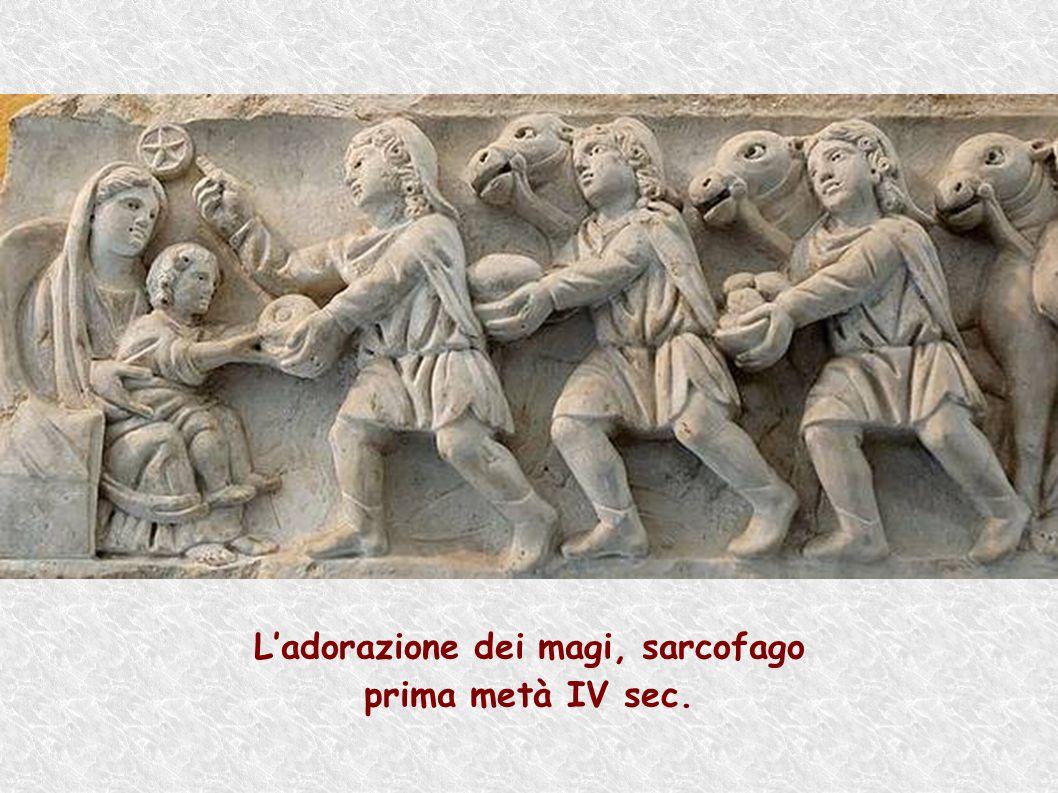 L'adorazione dei magi, sarcofago