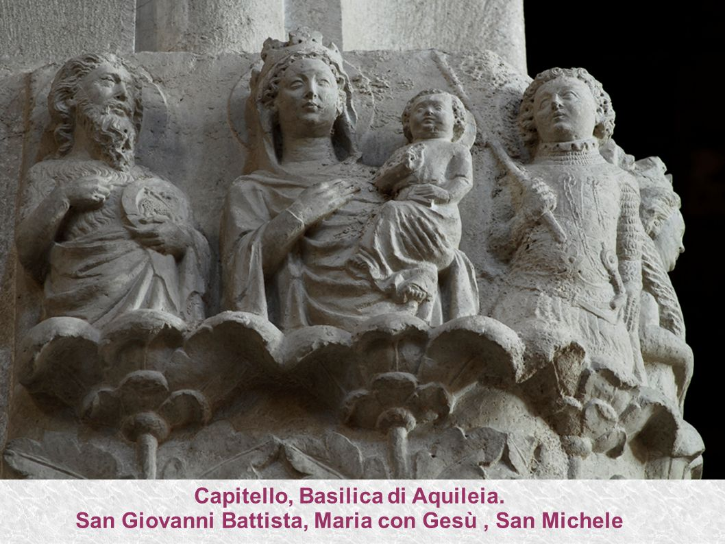 Capitello, Basilica di Aquileia.