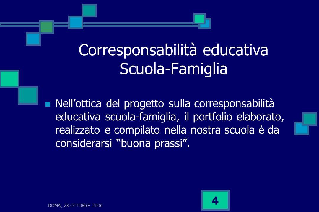 Corresponsabilità educativa Scuola-Famiglia