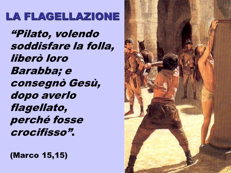 Pilato, volendo soddisfare la folla,