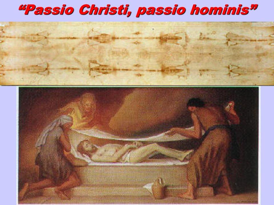 Passio Christi, passio hominis