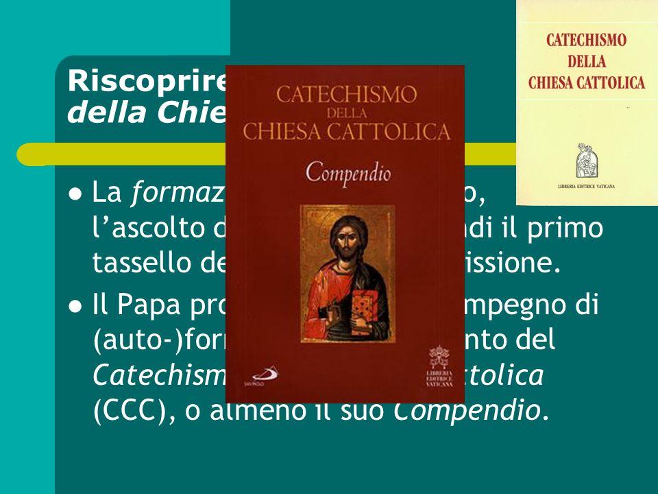 Riscoprire il Catechismo della Chiesa cattolica