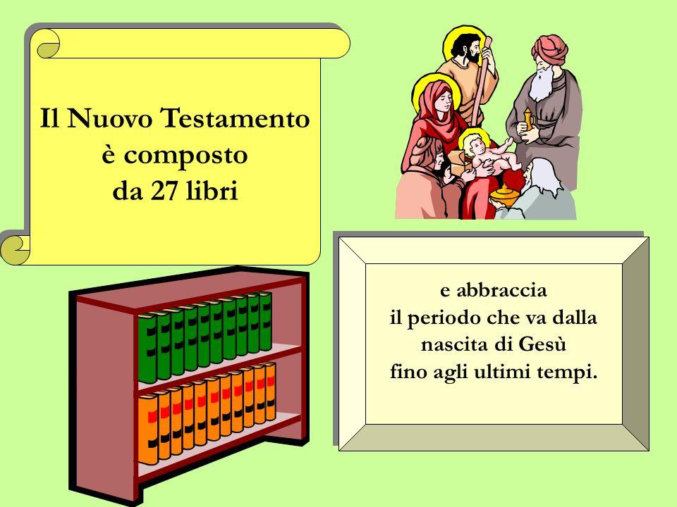 Il Nuovo Testamento è composto da 27 libri