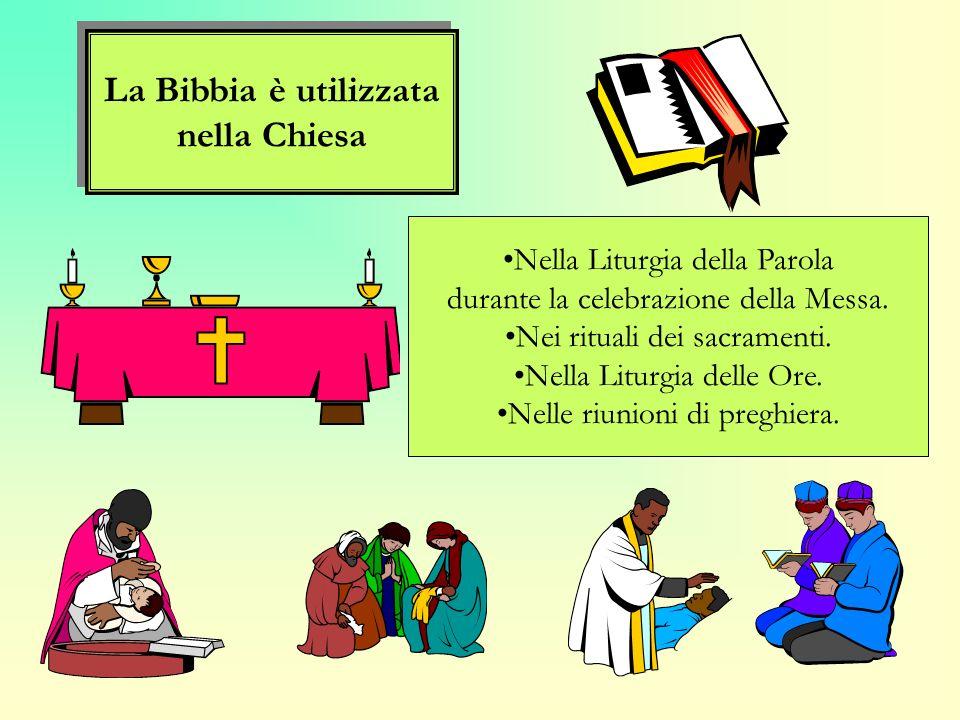 La Bibbia è utilizzata nella Chiesa