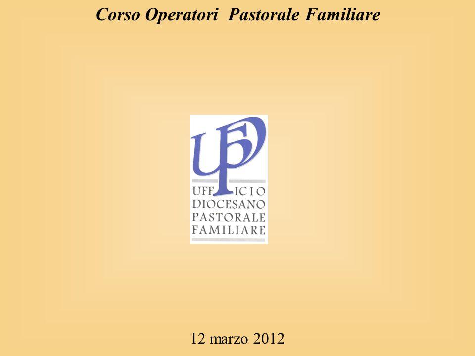 Corso Operatori Pastorale Familiare