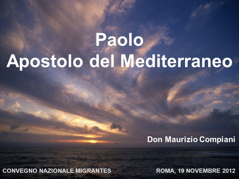 Paolo Apostolo del Mediterraneo