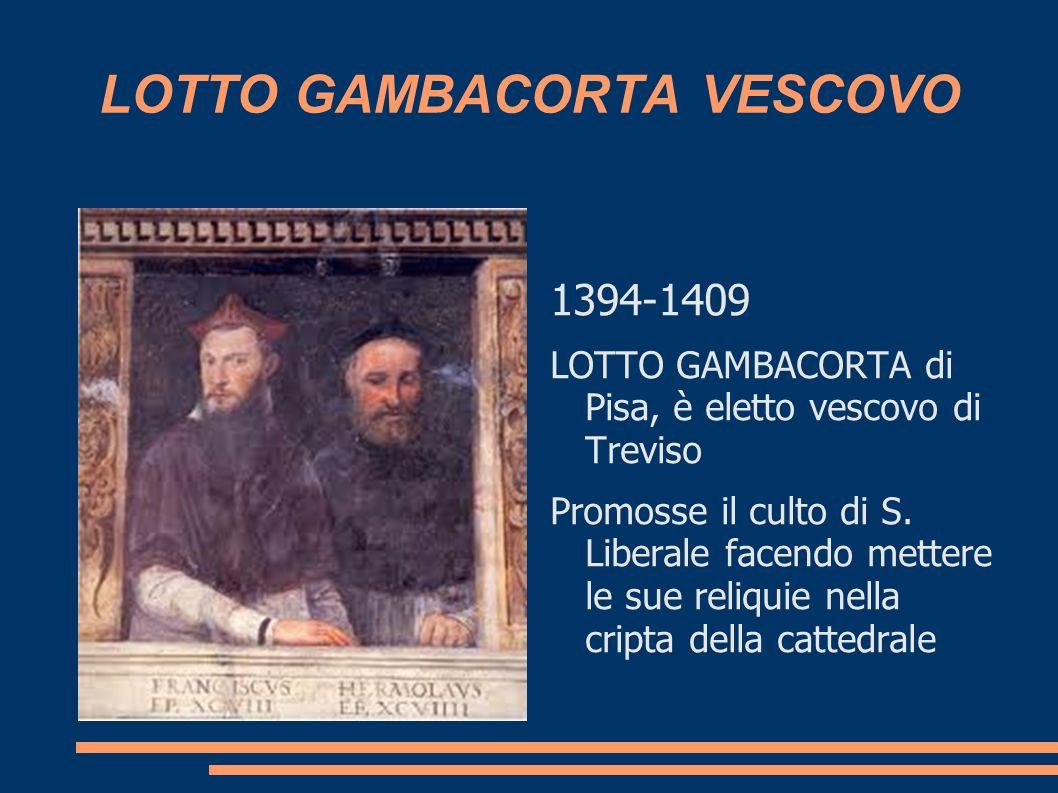 LOTTO GAMBACORTA VESCOVO