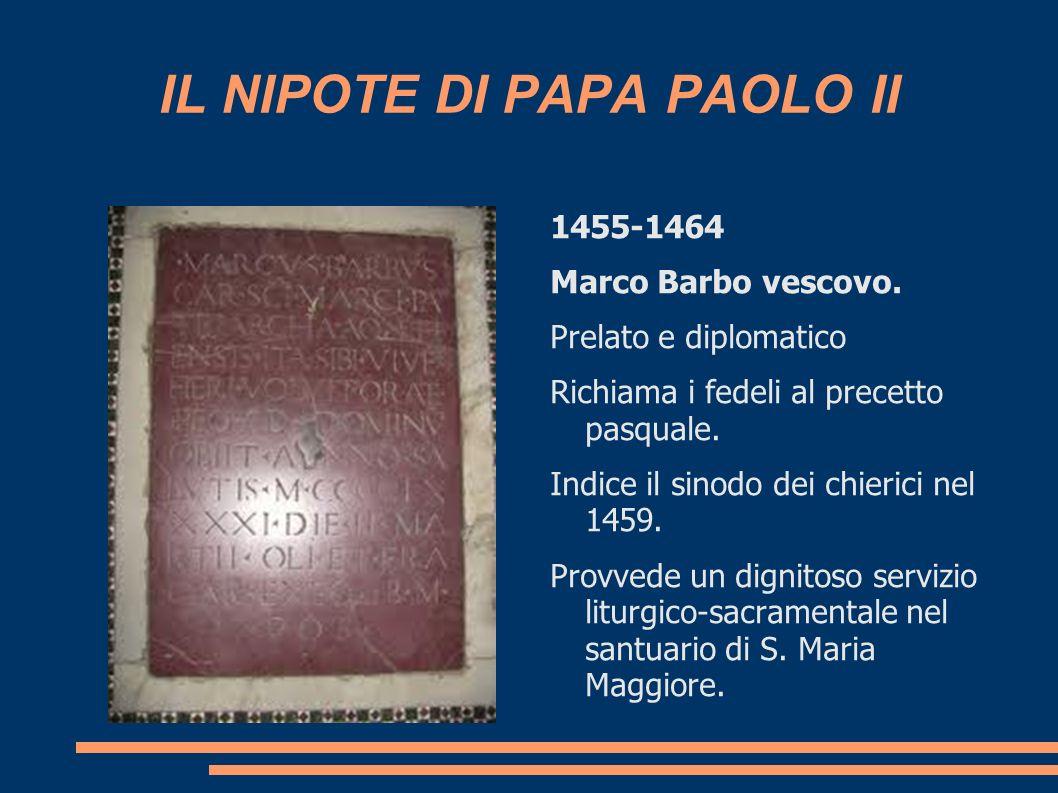 IL NIPOTE DI PAPA PAOLO II