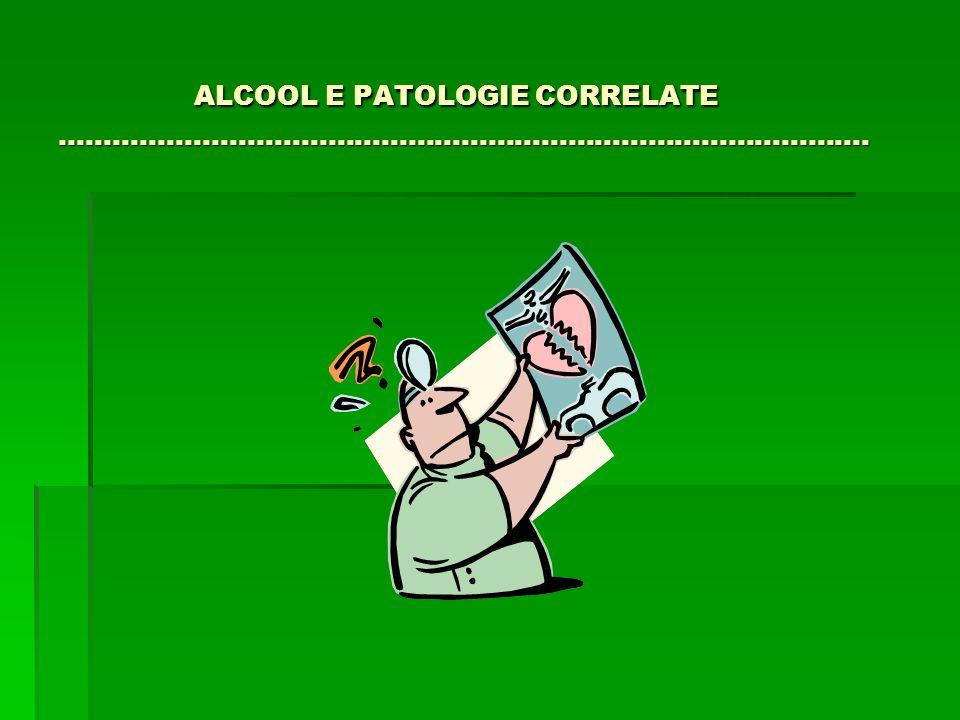 ALCOOL E PATOLOGIE CORRELATE ……………………………………………………………………………….