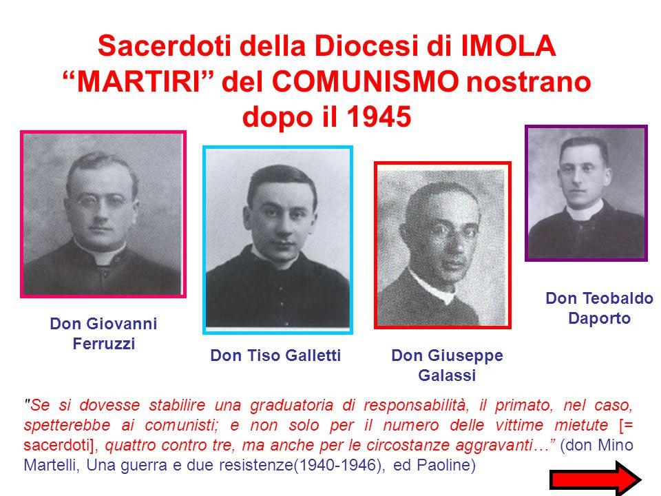 Sacerdoti della Diocesi di IMOLA
