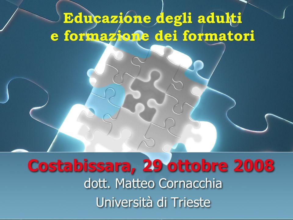 dott. Matteo Cornacchia Università di Trieste