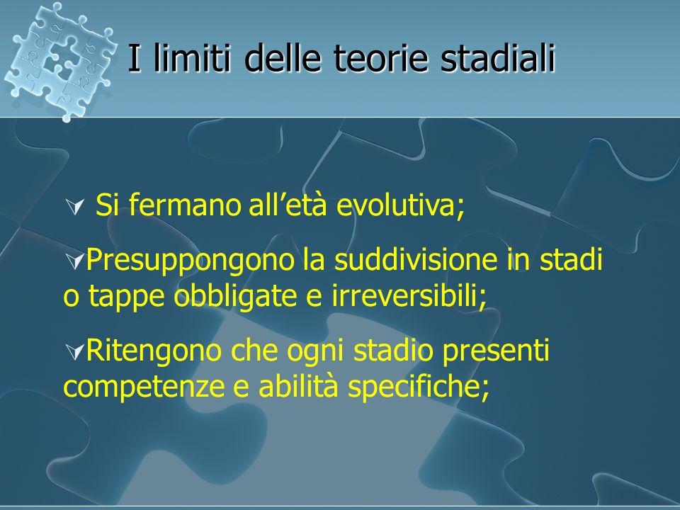 I limiti delle teorie stadiali