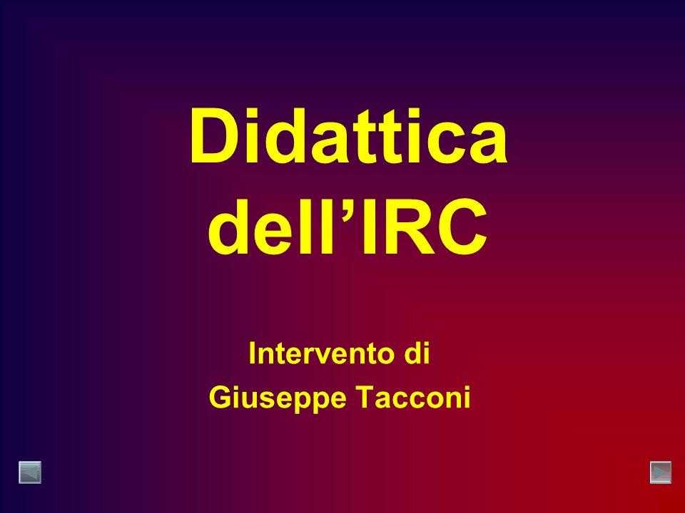 Intervento di Giuseppe Tacconi