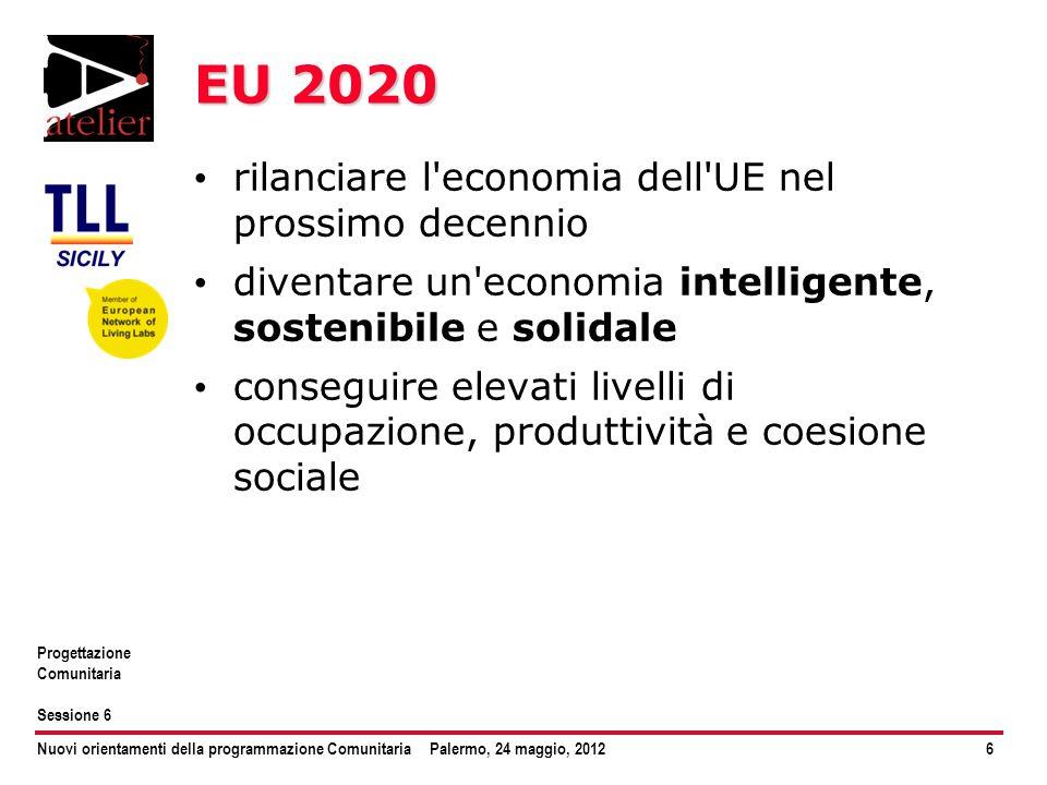 EU 2020 rilanciare l economia dell UE nel prossimo decennio