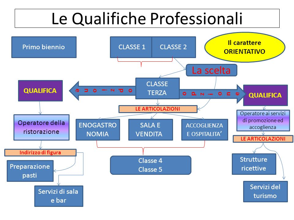 Le Qualifiche Professionali