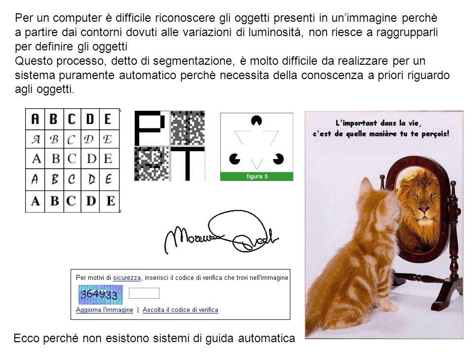 Per un computer è difficile riconoscere gli oggetti presenti in un'immagine perchè