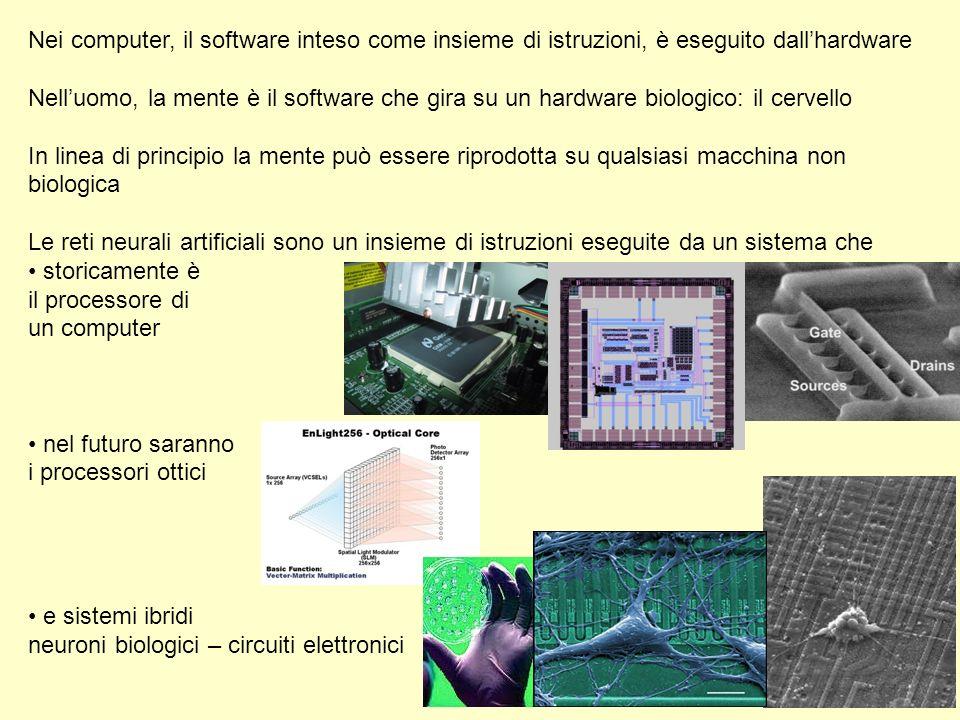 Nei computer, il software inteso come insieme di istruzioni, è eseguito dall'hardware